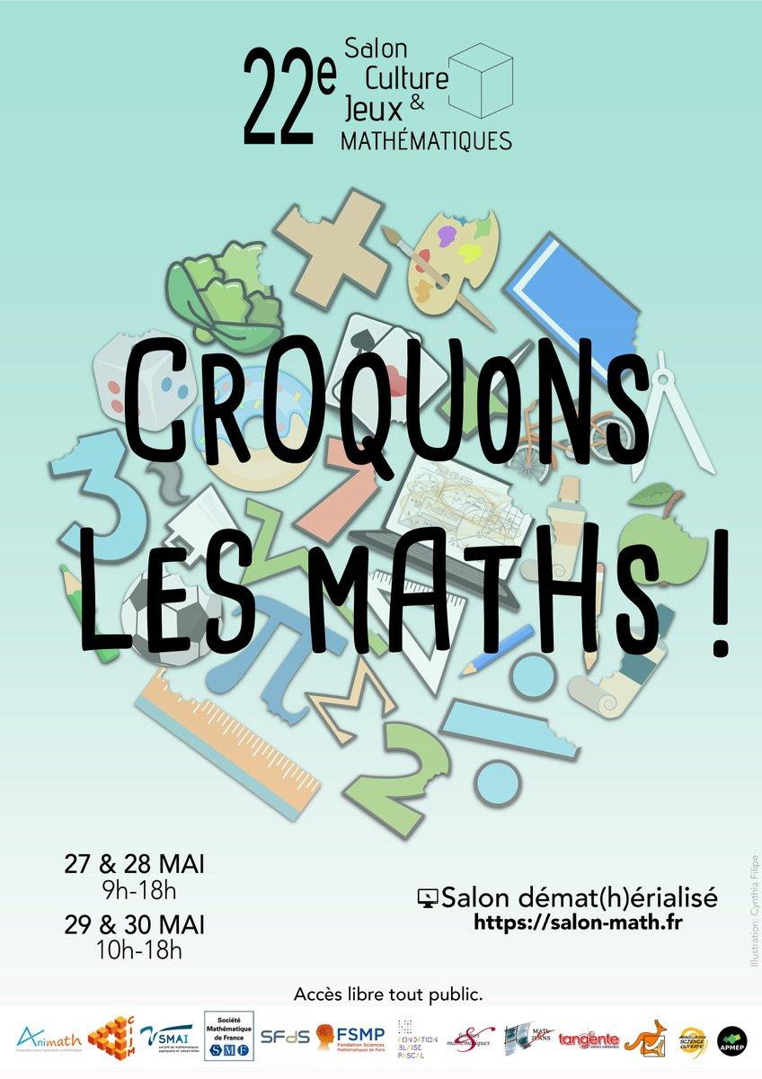 22ème Salon Culture et Jeux Mathématiques