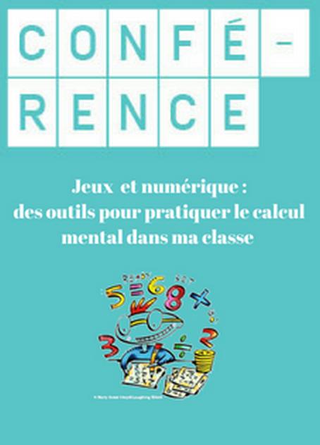 Conférence Eric Trouillot « Calcul mental-Jeux-Numérique-Mathador » @ Atelier Canopé 93 - Livry-Gargan
