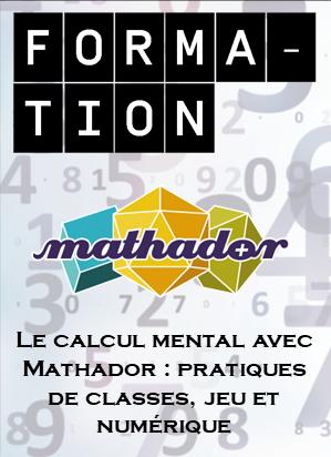 """Conférence Eric Trouillot """"Calcul mental-Jeux-Numérique-Mathador"""" @ Canopé Livry-Gargan"""