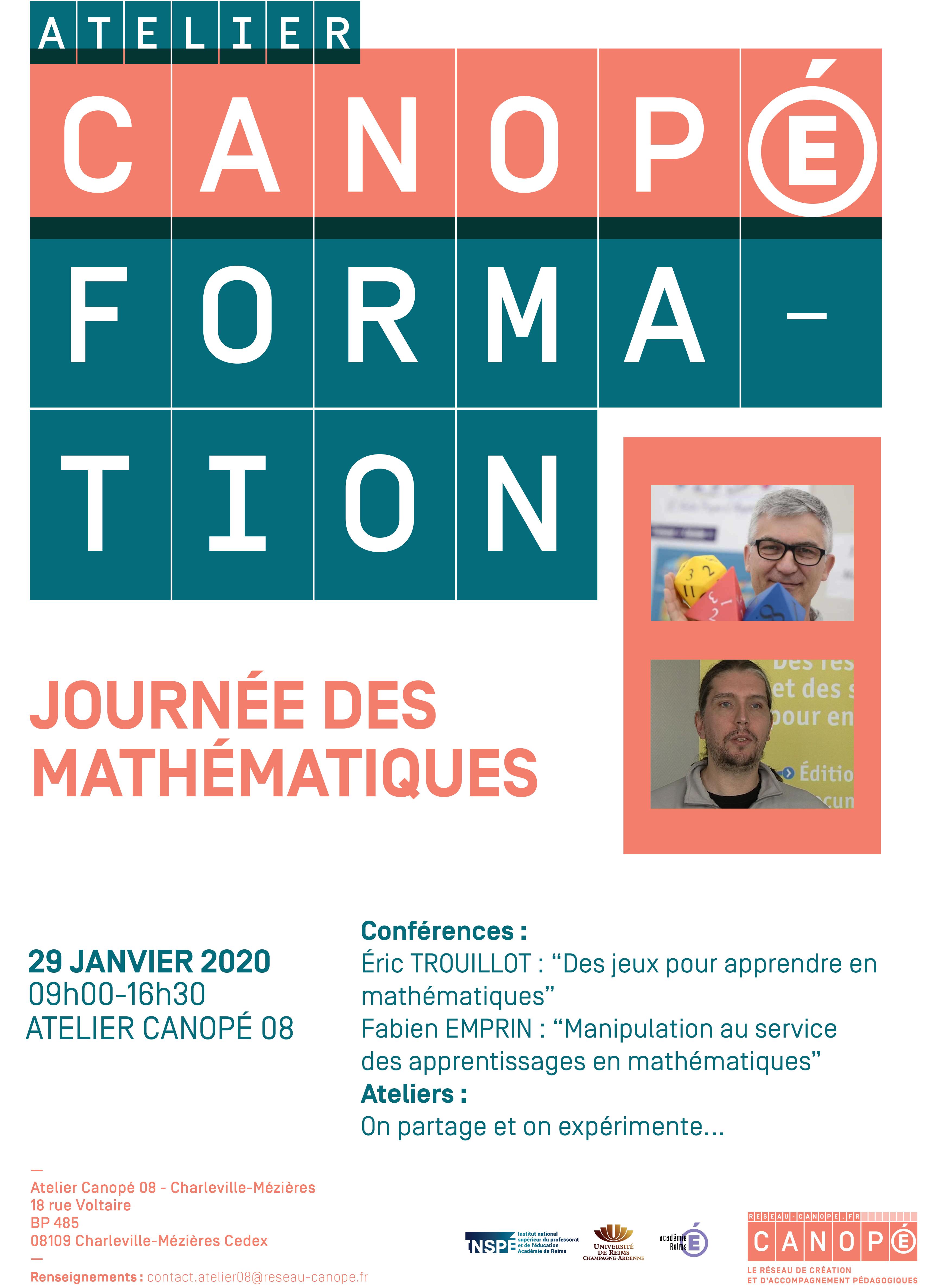 Journée des mathématiques @ Charleville-Mézières